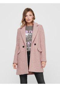 ONLY - Classic coat - burlwood - 0