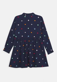 Benetton - FUNZIONE GIRL - Skjortekjole - dark blue - 1