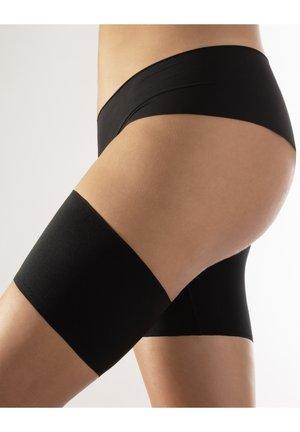 ANTI-CHAFING ELASTIC BANDS - Leg warmers - black