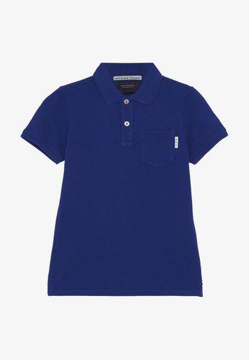 GARMENT DYED - Polo shirt - true blue