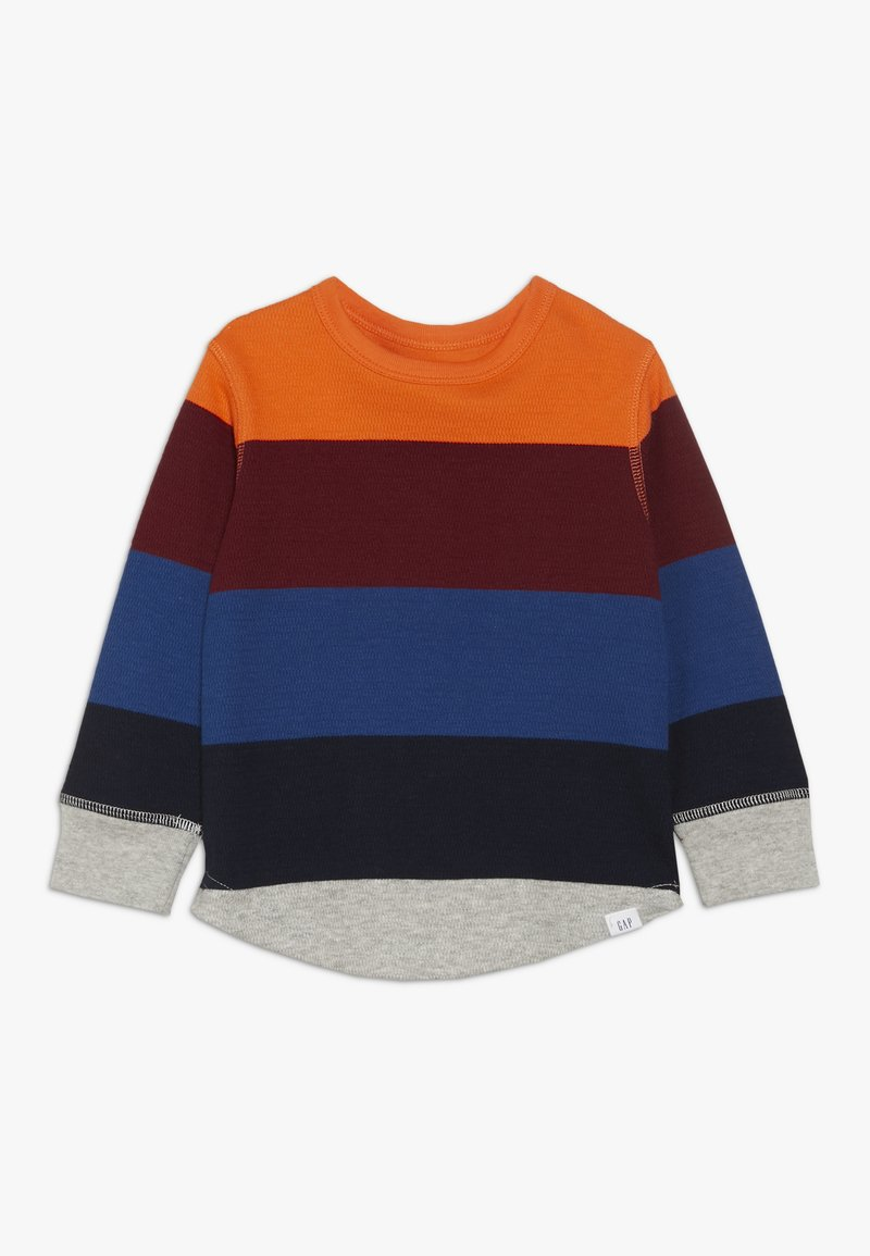 GAP - TODDLER BOY STRIPE - Long sleeved top - sport orange