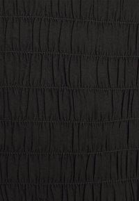 Dorothy Perkins - SHEERED MIDAXI - Shift dress - black - 2