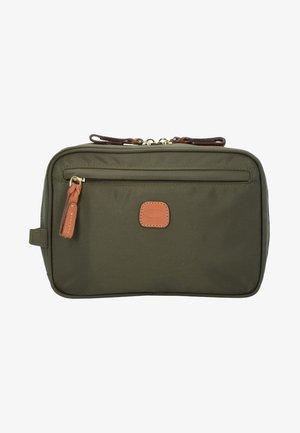 Wash bag - olive
