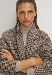 Massimo Dutti - Classic coat - beige - 6