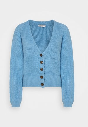 STARRY CARDIGAN - Kardigan - ice blue