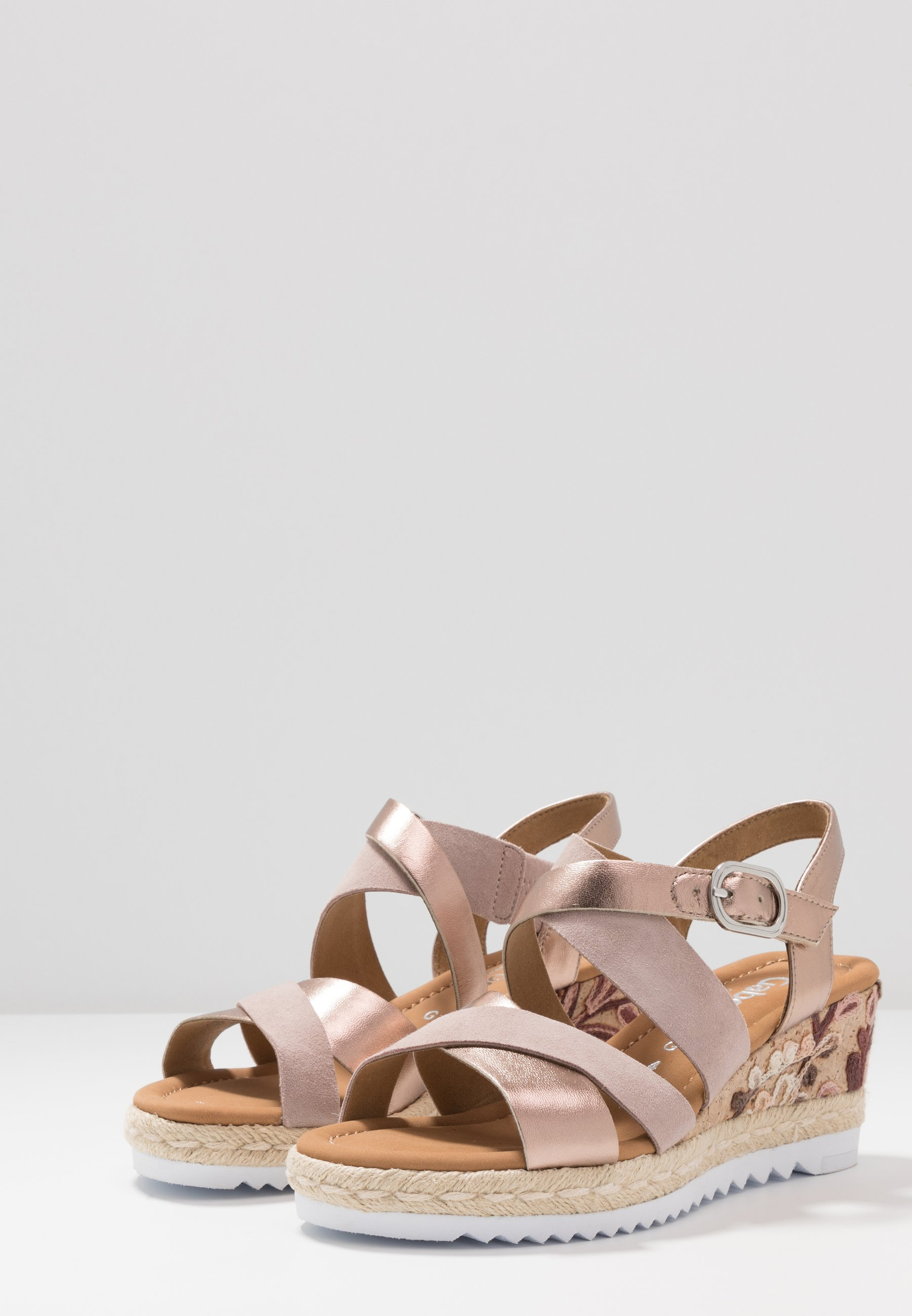 Gabor Comfort Plateausandalette luxor metallic/rame rose/roségoldfarben
