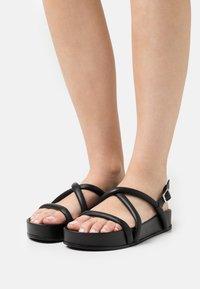 Oa non fashion - Platform sandals - nero - 0