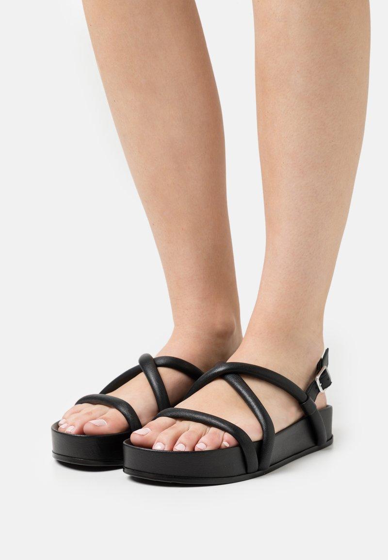 Oa non fashion - Platform sandals - nero