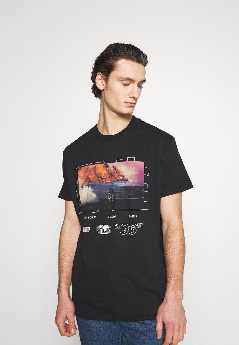 Night Addict - NAWILD - Print T-shirt - black