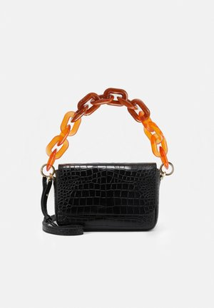 FLAP - Handbag - black