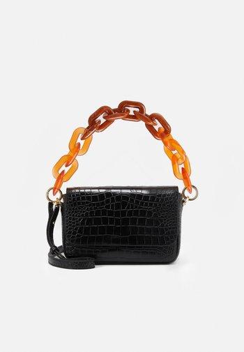FLAP - Handbag - black