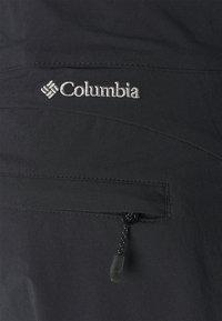 Columbia - MUIR PASS™ II CROPPED PANT - Pantaloncini 3/4 - black - 5