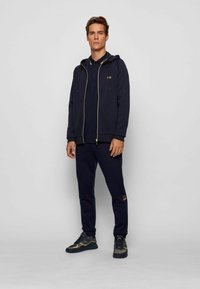 BOSS - Zip-up hoodie - dark blue - 1