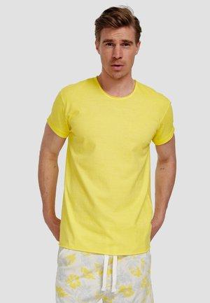 Basic T-shirt - illuminatting yellow