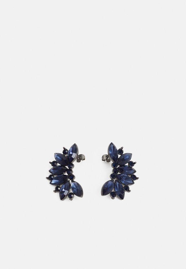 PCDERK EARRINGS - Kolczyki - gunmetal/blue