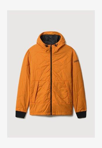 A-CIRCULAR PUFFER - Light jacket - desert ocra