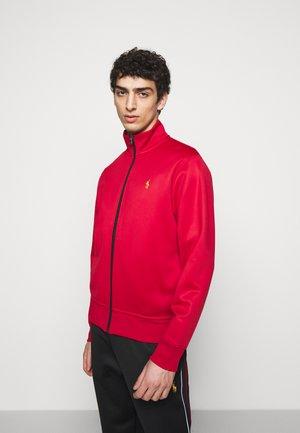 TRACK - Zip-up hoodie - red