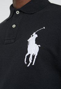 Polo Ralph Lauren - BASIC SLIM FIT - Polo shirt - black - 5