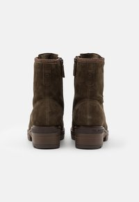 Tamaris Pure Relax - BOOTS  - Platform ankle boots - dark olive - 3