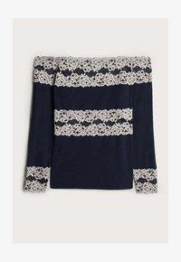 Intimissimi - PRETTY FLOWERS - Pyjama top - multifarben - 347i - blu intenso/vanilla - 3
