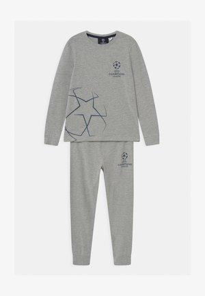 NKMUEFA IVOR PARK - Pyjama set - grey melange