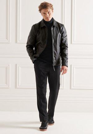 STUDIOS COACH - Leather jacket - black