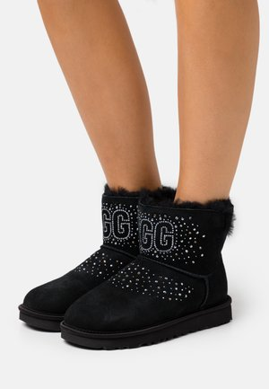 CLASSIC BLING MINI - Bottines - black