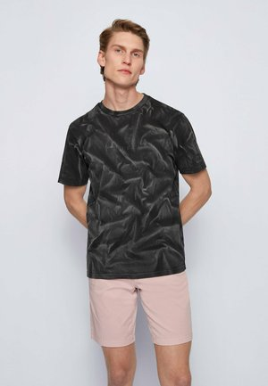 TSOIL - Print T-shirt - black