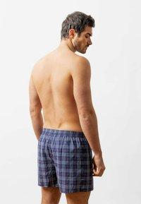 SNOCKS - WOVEN - 3 PACK - Boxer shorts - big check - 3