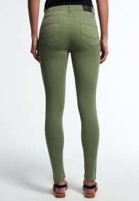 Superdry - SOPHIA - Slim fit jeans - khaki - 2