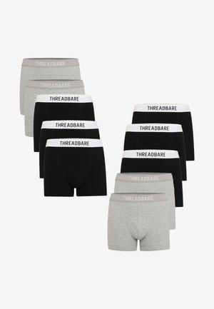 10 PACK - Shorty - grey/ black
