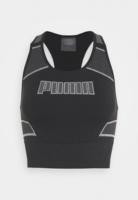 Puma - EVOSTRIPE EVOKNIT CROP - Sports shirt - black - 5