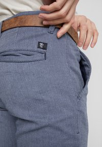 TOM TAILOR DENIM - STRUCTURED - Chinot - blue - 3