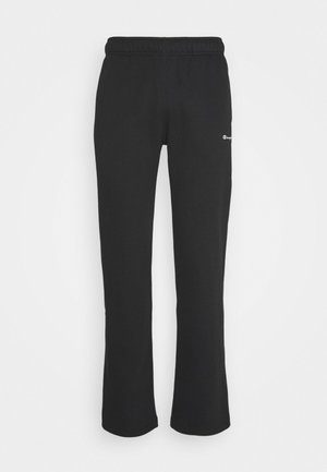 LEGACY STRAIGHT HEM PANTS - Pantalon de survêtement - black