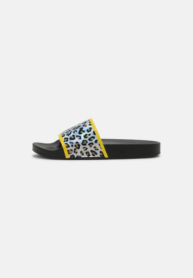 WIDE FIT CALIFORNIA - Mules - yellow