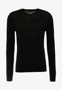 Bruuns Bazaar - CHARLES - Maglione - black - 3