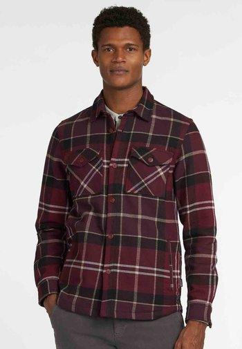 CANNICH OVERSHIRT - Shirt - winter red tartan