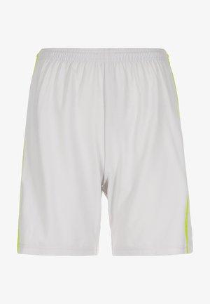 CONDIVO  18 SHORTS - Sports shorts - grey/yellow