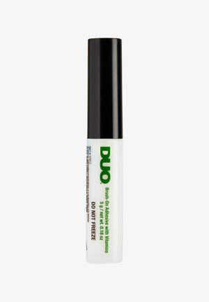 DUO BRUSH ON ADHESIVE WITH VITAMINS - Kunstwimpers - clear