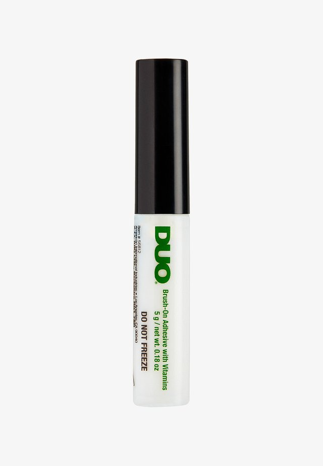 DUO BRUSH ON ADHESIVE WITH VITAMINS - Falske øjenvipper - clear