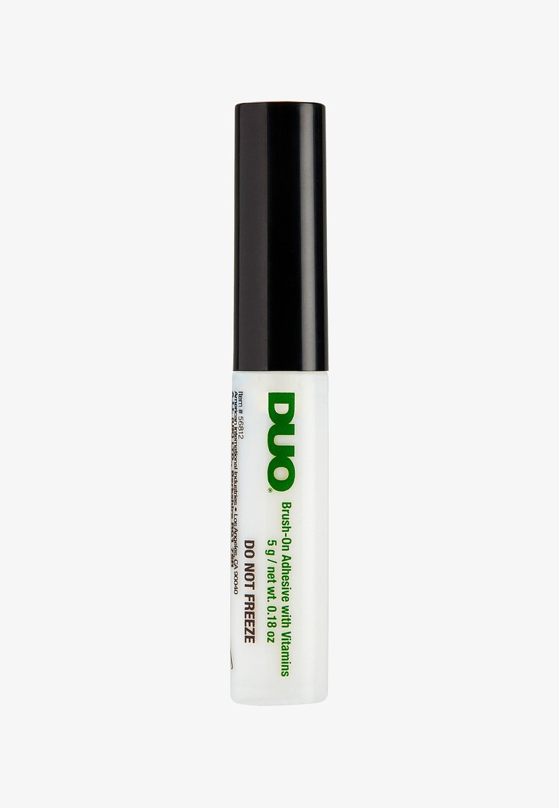 DUO - DUO BRUSH ON ADHESIVE WITH VITAMINS - False eyelashes - clear