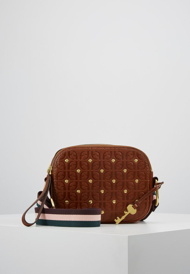 ELLE - Across body bag - brown