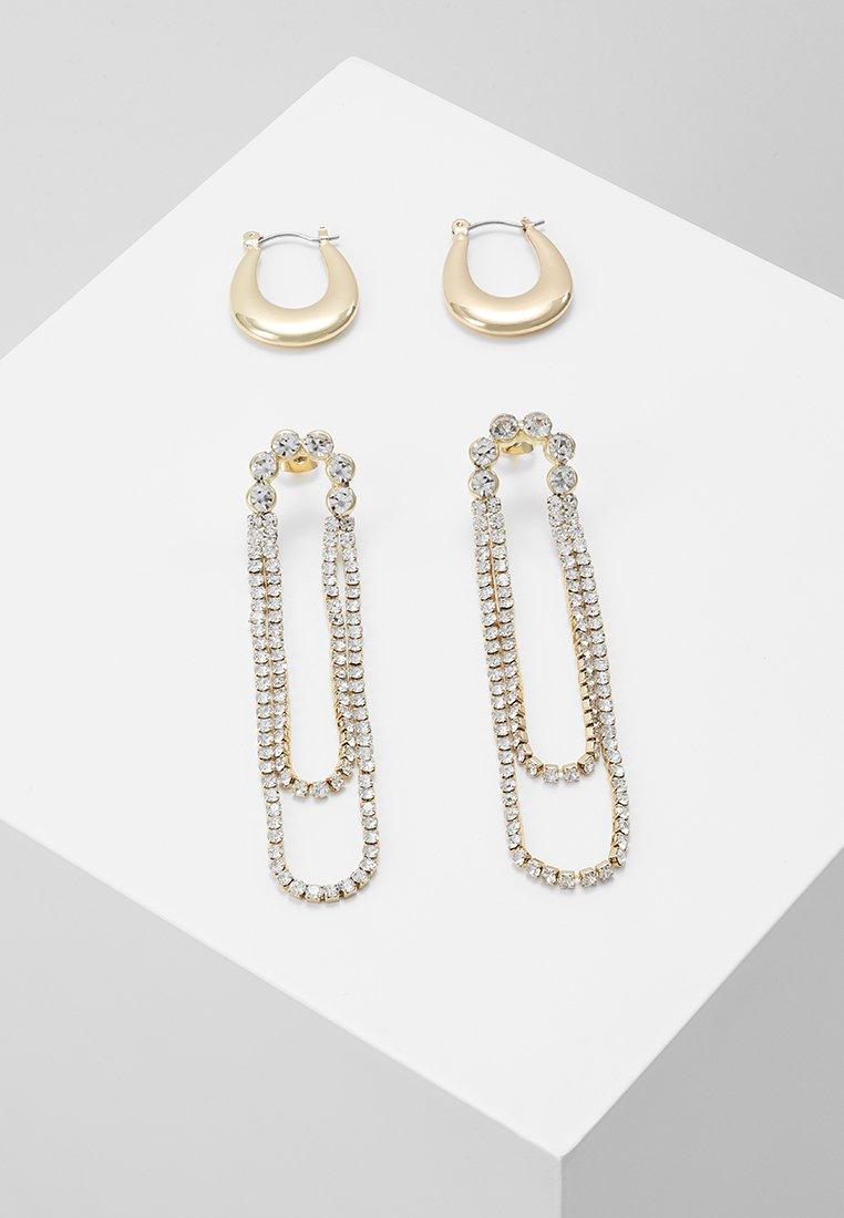 Pieces - Boucles d'oreilles - gold-coloured