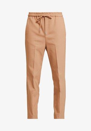 ZELLA PULL ON PANTS - Spodnie materiałowe - warm camel