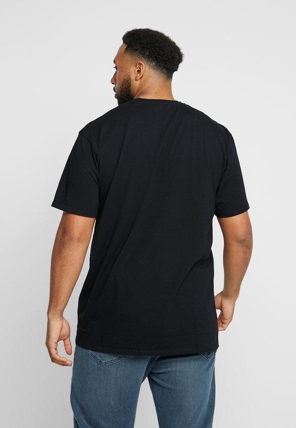 Edwin JAPANESE SUN - T-shirt z nadrukiem - black/czarny Odzież Męska AMWN