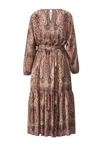 Sara Lindholm - WEB - Maxi dress - braun/smaragd - 5