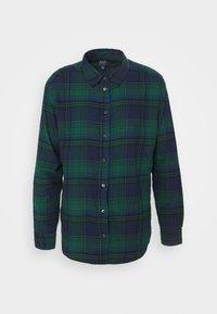 EVERYDAY - Button-down blouse - blackwatch plaid