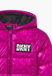 DKNY - PUFFER - Zimní bunda - fuschia - 2