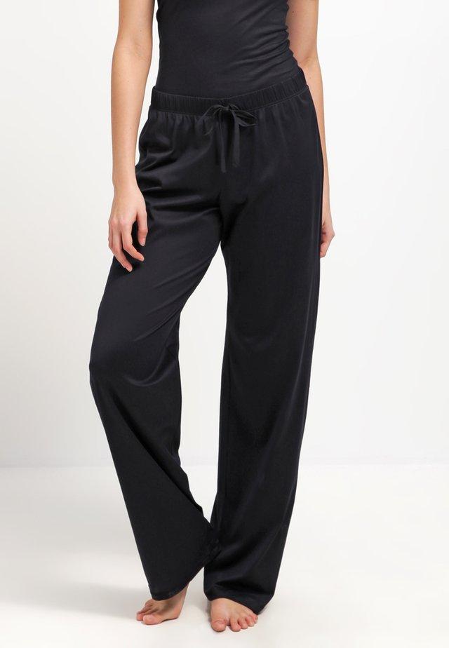 COTTON DELUXE - Pyjama bottoms - black