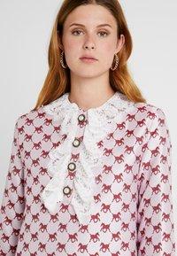 Sister Jane - FOAL RUFFLE MINI DRESS - Shirt dress - pink - 4